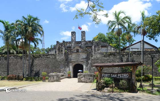 Cebu Tourist Spots Fort San Pedro