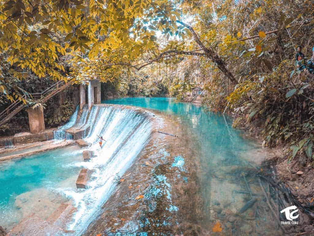 kawasan falls Cebu tour package