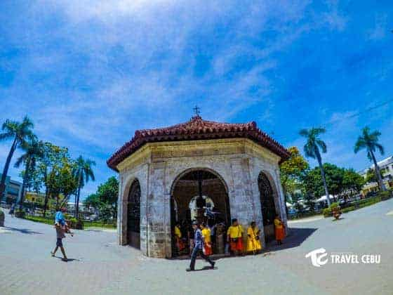 Cebu Tourist Spots Magellan's cross