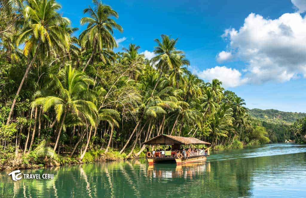 loboc river Cebu tour package