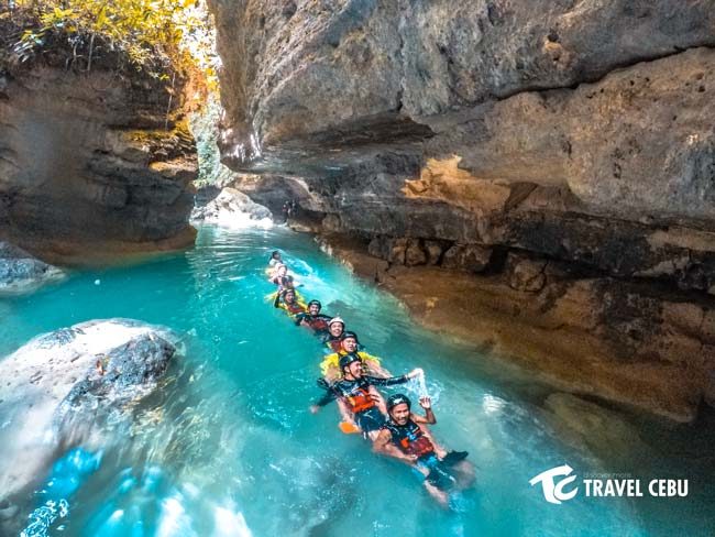 things to do in Cebu canyoneering