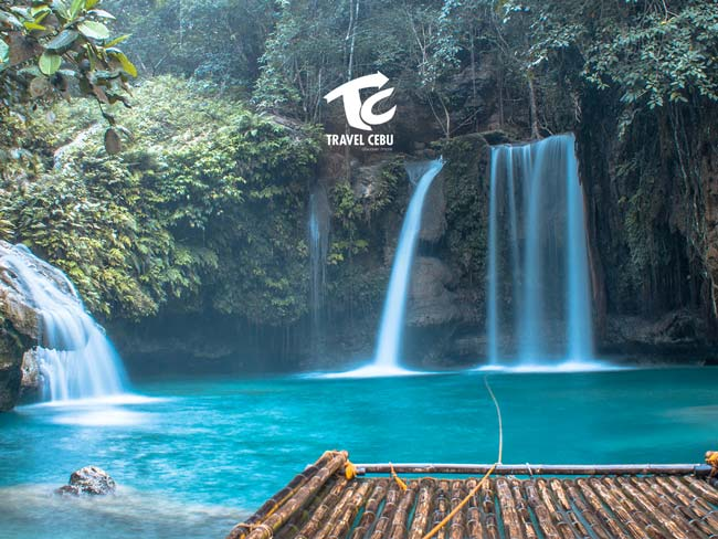 thing to do in Cebu Kawasan Falls