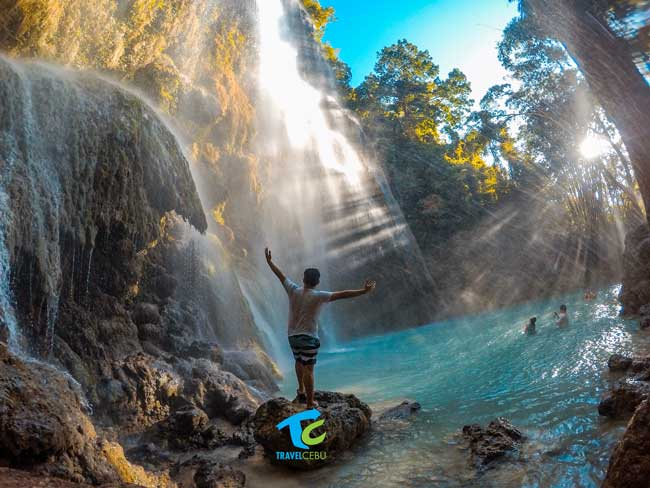 Things to do in Cebu tumalog falls